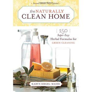 3/$25 BOOK SALE!bThe Naturally Clean Home